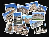 Rome postcards — Stock Photo