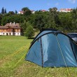 Camping in Poland — Stock Photo