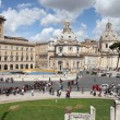 Piazza Venezia, Rome — Stock Photo