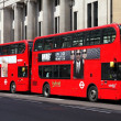 London hybrid buses — Stock Photo #30268585