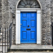 Stock Photo: London door