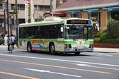 Osaka city bus — Stock Photo