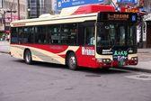 Nagano hybrid bus — Stock Photo