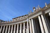 Vatican colonnade — Foto de Stock