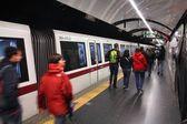 Rome metro — 图库照片
