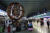 Rome Fiumicino airport — Stock Photo