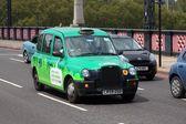 λονδίνο ταξί — Φωτογραφία Αρχείου