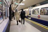 Londra metro — Stok fotoğraf