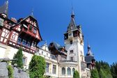Peles castle, Romania — Stock Photo