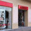 Stock Photo: Guess fashion store