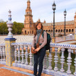 Pretty tourist in Seville — Stock Photo #30271207