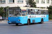 Volvo bus in Serbia — Stock Photo