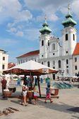 Gyor, Hungary — Stock Photo