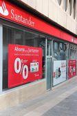 Santander Bank — Stock Photo