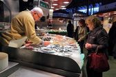 Boqueria market — Stock Photo