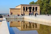 Madrid - templo de debod — Foto Stock