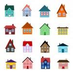 Cartoon house icon — Stock Vector #30272045