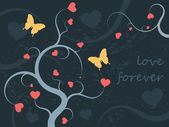 Love ornament — Vector de stock