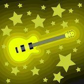Rock muzyka tła — Wektor stockowy