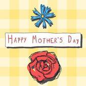 празднование дня матери — Cтоковый вектор