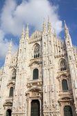 在米兰大教堂 — 图库照片