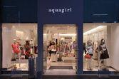 Aquagirl módní obchod — Stock fotografie
