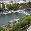 Seine in Paris — Stock fotografie