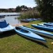 Stock Photo: Water recreation equipment