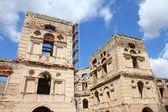 Castelo em ruínas na polónia — Foto Stock