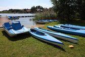 Water recreation equipment — Stock Photo