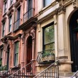 New York townhouse — Stock Photo