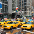 Yellow cabs — Stock Photo