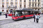 Vienna city bus — Stock Photo
