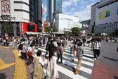 Tokyo - Hachiko crossing — Stock Photo