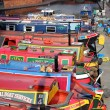Narrowboats in England — Stock Photo