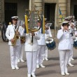 Military Band in Sweden — Stock Photo #31634103