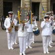 Military Band in Sweden — Stock Photo