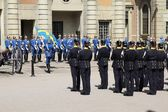 Stockholm Honor Guards — Stock Photo