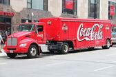 Coca Cola truck — Stock Photo