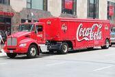 Coca Cola truck — Stock Photo