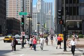 Chicago - Michigan Avenue — Stock Photo