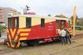 Железнодорожные автобус — Стоковое фото