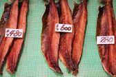 日本烟熏的鱼 — 图库照片