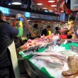 Barcelona fish market — Photo