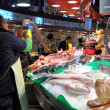 Barcelona fish market — Stock Photo
