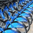 Bike rental in New York — Stock Photo