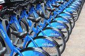 Alquiler de bicicletas en nueva york — Foto de Stock