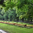 Warsaw park — Stock Photo