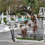 Main cemetery of Santiago de Cuba. — Stock Photo