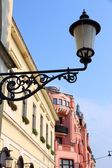 Old apartment buildings. Debrecen, Hungary — Stock Photo